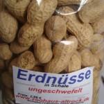 ungeröstete Erdnüsse